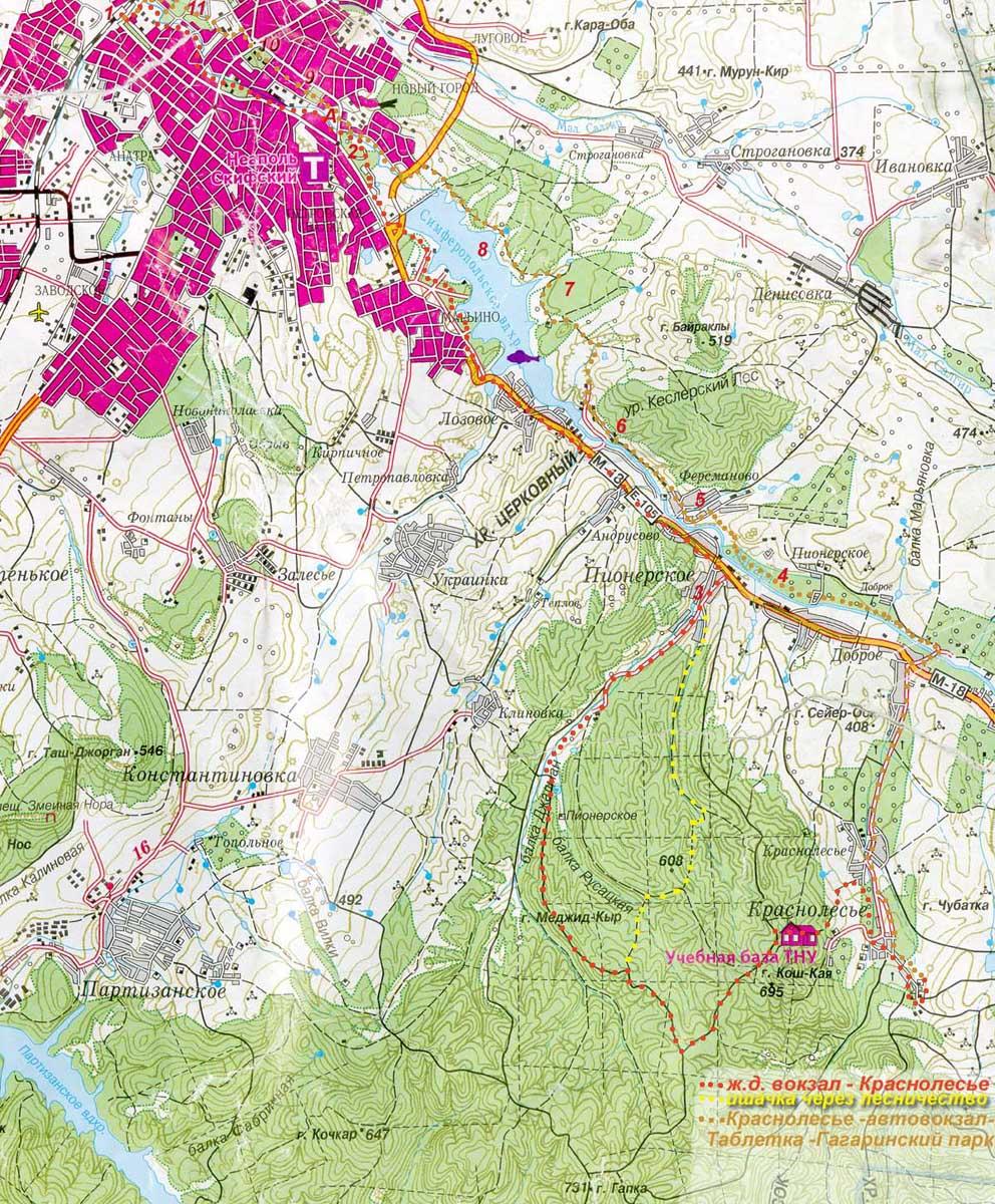Салгирская петля — прогулочный маршрут для горного ...: http://kraevedenie.net/2010/01/26/salgir_link/