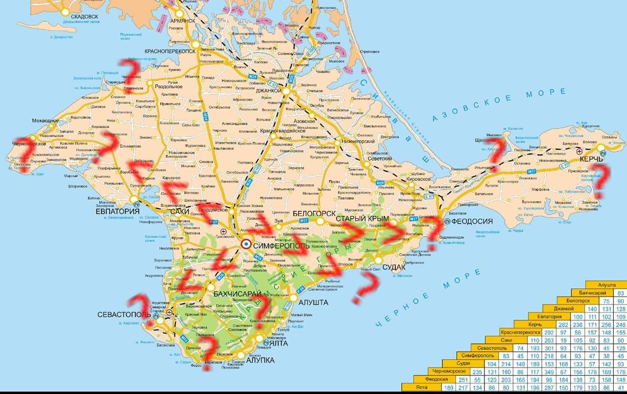 как и зачем считать туристов в Крыму, зачем нужны прогнозные карты распределения отдыхающих, как определять эффективные методы управления потоками?