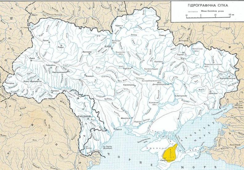 Речная сеть Украины - основа внутреннего туризма