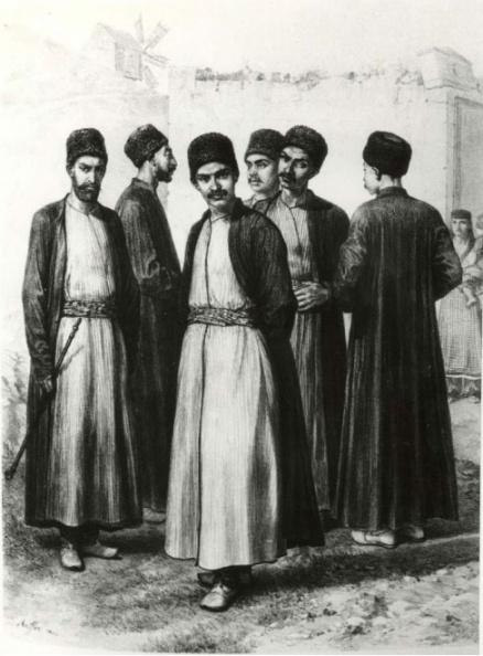 Караимы, гравюра Огюста Раффе