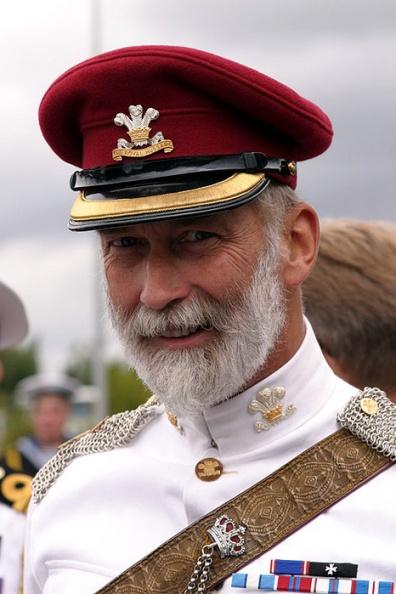 Балаклава, 2001, принц Майкл Кентский - брат королевы Великобритании посетил памятные мероприятий к 150-летию Крымской войны