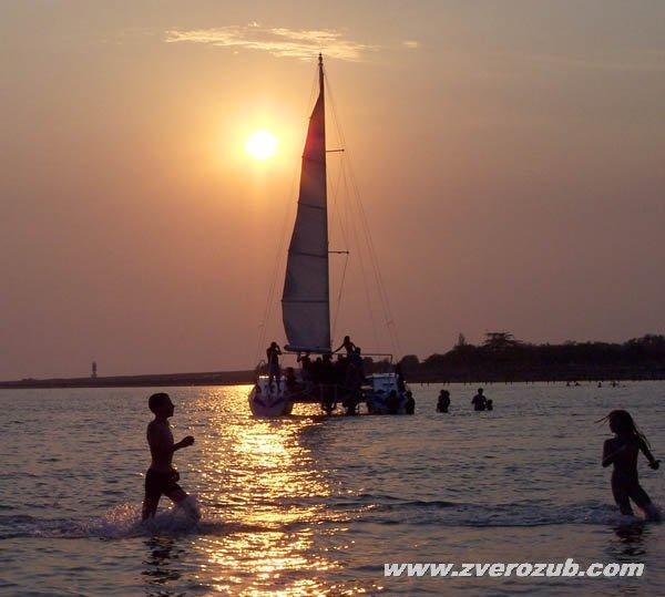 Лето, жара, Крым