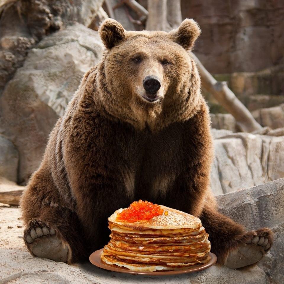 Блины с икрой - простая русская еда на Масленицу!