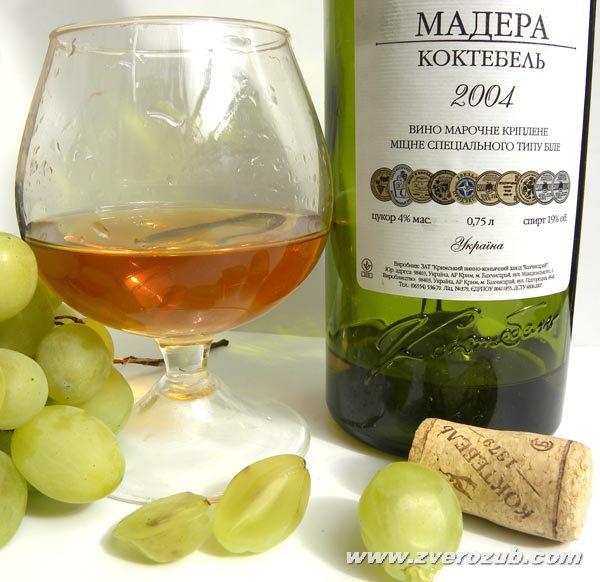 Мадера коктебель и сорт винограда