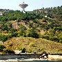 радиотелескоп на мысе Сотера к востоку от Алушты