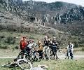 у Долины Привидений на горных велосипедах