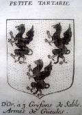 герб Малой Татарии из коллекции музея Ларишес - грифоны-то боспорские! (50 кб)