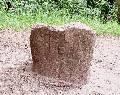 камень с тамгой Великого князя Литовского Гедемина, традиция считает его конюхом (!!) князя Витеня (92 кб)