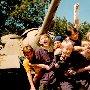 Симферопольские роллеры на Сапун-горе в Севастополе, 9 мая 1998