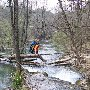 одна из многих переправ по каньону реки Чоргунь, Севастополь