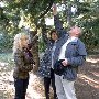 Ботаническая экскурсия в парке Партенита для слепых