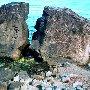 Черновские камни. Пляж Профессорского уголка. Алушта