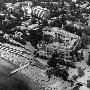 """вид на гостиницу """"Ореанда"""", Ялтинскую киностудию и Приморский пляж Ялты. Фото К. Дудченко"""
