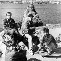 1993. лучшие севастопольские скейтеры - Накозин, Копалкин и скейтер из Балаклавы Игорь Медведь (?)
